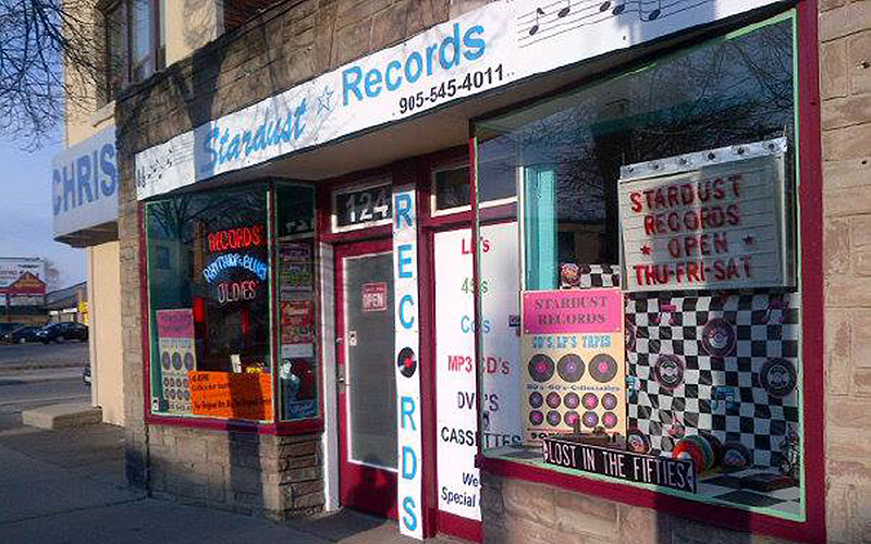 Stardust Records storefront